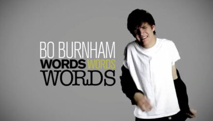 Bo Burnham - Words, Words, Words